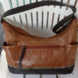 The Sak leather sholder bag